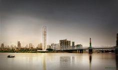RRC STUDIO designed the 'XIANG RIVER TOWER' in Changsha, China.  http://en.51arch.com/2013/09/a3017-xiang-river-tower/