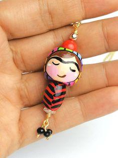 Tiny Charm 2 Dirty Devil Nano Dolls Kokeshi Style   Etsy