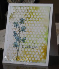 TLC588 CAS379 Happy Watercolor vky by Vickie Y - Cards and Paper Crafts at Splitcoaststampers