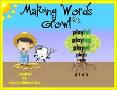 Making Words Grow with Prefixes and Suffixes (FREEBIE) Cards from A_Teachers_Idea on TeachersNotebook.com (8 pages)