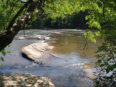 Chattahoochee River...in dunwoody...walk the river walks