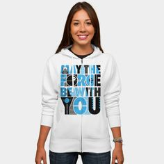 Star Wars Hoodie - May The Force Be With You Zip Hoodie By StarWars http://ragebear.com/to/star-wars-may-the-force-be-with-you-t-shirt