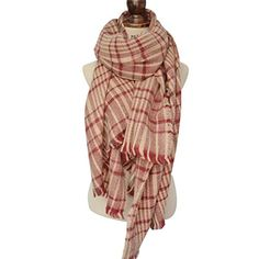 EFZQ Women's Colorful Mohair Tassels Plaid Large Tartan Scarf Warm Winter Shawl Wrap. EFZQ is an US brand, Serial Number is 86822265. Sold by EF&more store front. Size :style#1 180cm*135cm, style#2 200cm*110cm. Multicolor Plaid modeling, more fashionable, Wear as infinity scarf or shawl. Patterned in rich, classic plaids. Super soft cashmere feel;Good gifts for your colleagues, frinds and family.