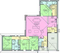 Modele Maison 4 Chambres Plan De Maison Et Style En 2019