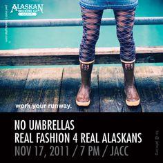 Fashion show in Alaska for Charity!