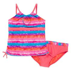 Angel Beach Girls Plus Swimsuit Sunset 2 pc set Coral kids sizes 14.5 16.5 NEW  14.99 free us shipping http://www.ebay.com/itm/Angel-Beach-Girls-Plus-Swimsuit-Sunset-2-pc-set-Coral-kids-sizes-14-5-16-5-NEW-/262718161377?ssPageName=STRK:MESE:IT