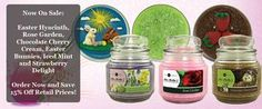 "We carry gourmet palm wax candles. All of our candles are hand crafted. These candles are Heavenly. We have a few ways for you to get a candle.   The first way is to <a href=""http://www."