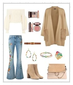 """Untitled #273"" by joanna-tabakou on Polyvore featuring Valentino, Gucci, ESCADA, Yves Saint Laurent, Chloé, Ippolita, STELLA McCARTNEY and Charlotte Tilbury"