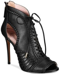 3e388a123b8a Avec Les Filles Joyce Lace-Up Open-Toe Shooties, Created for Macy s Shoes -  Pumps - Macy s