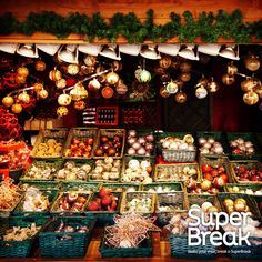 We love a #ChristmasMarket! What would make your Christmas a Super one? Follow our #SuperBreakElf Pinterest board for more information on how to enter our #Christmas #Competition!