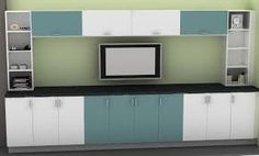 Image result for ikea black brown tv wall unit
