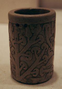 Tumbler, Peru, Cupisnique 15th-9th century B.C., Stone - Close Up: Drinking Vessels - Nalata Nalata