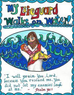 Jesus rescues drowning human souls. #Jesus #souls  www.thegoodnewscartoon.com ***Pray with us on Facebook :) ***