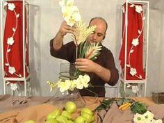 Curso de Arranjos Decorativos - Volume 01 - Arranjo 08 - YouTube