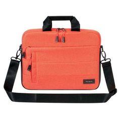 """TARGUS 13"""" Groove X Slimcase Orange Messenger Bag For Apple Macbook TSS83902AP"""