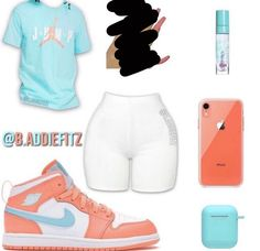 Style Fashion Tips .Style Fashion Tips Nike Outfits, Baddie Outfits Casual, Cute Lazy Outfits, Swag Outfits For Girls, Teenage Girl Outfits, Cute Swag Outfits, Jordan Outfits, Girls Fashion Clothes, Teen Fashion Outfits