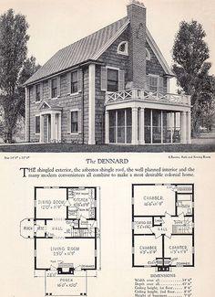 1928 Home Builders Catalog - The Dennard