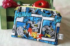 Lots of assorted snack & sandwich bags (velcro & https://www.etsy.com/listing/118534179/zippered-snack-pack-batman-comiczipper) in Etsy!  $7.00