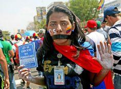 #Venezuela #Protesta #14F #Estudiantes #Represión