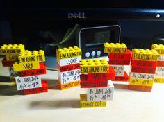 Einladung Lego-Party