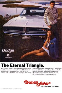1969 Dodge Charger R/T - The Eternal Triangle #dodgevintagecars
