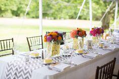 Gorgeous summer floral design. Pierce House // SD Events // Summer Street Photography