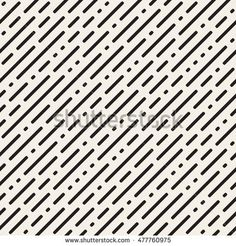stock-vector-vector-seamless-black-and-white-irregular-rounded-dash-diagonal-lines-pattern-abstract-geometric-477760975.jpg (450×470)