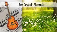 Partitura y Tablatura John Dowland - Allemande Guitarra Acústica