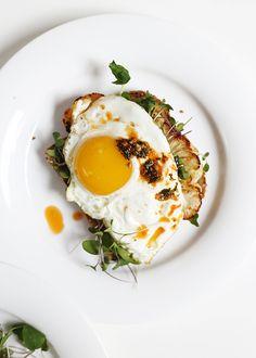 Smoky Breakfast Sandwich via @thefauxmartha