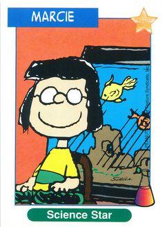 Peanuts MetLife All Star Cards - Marcie