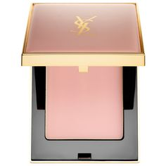 What it is:A blur perfector compact that perfects the skin while retaining its luminous glow.  What it does:This portable perfector is Yves Saint Laurent's first ever blur perfector encased within a compact. It transforms from a balm to a powder up