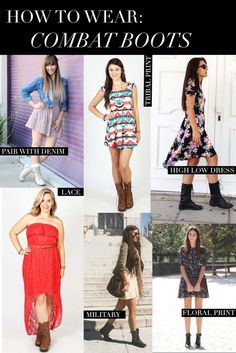 Deb Shops - How to wear combat boots