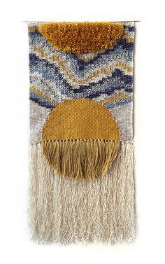"""blueberrymodern: """" Aten weaving by Rachel Gottesman of Heddle & Needle. """" ☆"""