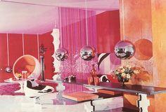 60's space age interior design - Google Search