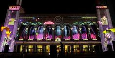 The Atlantic City Boardwalk Hall Light Show