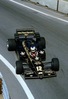 Nigel Mansell Lotus - Renault 1984