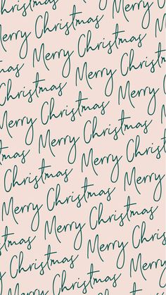 Merry Christmas calligraphy free phone background!