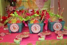 Strawberry Shortcake Birthday Party Ideas | Photo 5 of 36 | Catch My Party