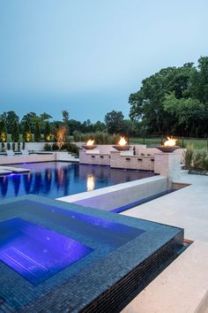 JFY Designs + Shane McFarland Construction Home in the Grove, Franklin TN Pool Pool, Swimming Pool Landscaping, Luxury Swimming Pools, Luxury Pools, Dream Pools, Swimming Pool Designs, Durham, Backyard Pool Designs, Backyard Pools