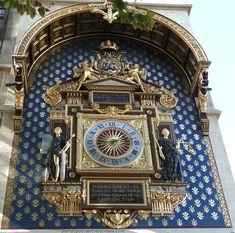 Détail de l'Horloge- ile de la Cité