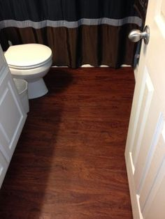 TrafficMaster Allure 6 in. x 36 in. Cherry Resilient Vinyl-Plank Flooring (24 sq. ft. / case)-12012 at The Home Depot