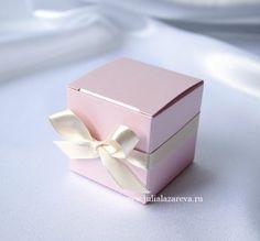 """Бонбоньерка """"Коробочка с бантиком"""" #wedding #weddingdecor"""