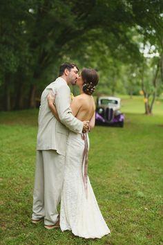 Southern Vintage Alabama Wedding