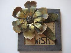 Bigz die: Tim Holtz Tattered Florals  from Studio 490