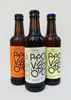 """desistopublications:"""" Label design for the A./PROVISÓRIO craft beer"""" – Niclas W desistopublications:"""" Label design for the A./PROVISÓRIO craft beer"""" desistopublications:"""" Label design for the A. Food Branding, Food Packaging Design, Packaging Design Inspiration, Craft Beer Brands, Craft Beer Labels, Beverage Packaging, Bottle Packaging, Coffee Packaging, Kombucha"""