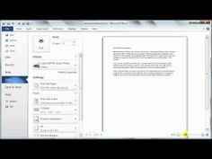 Microsoft Word 2010 tutorials
