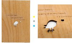 Cardtorial: Laser-Cut Wood Cards & Wedding Invitations by Yvonne Leung — Kickstarter