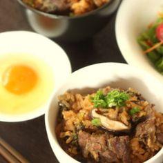 炊飯器で作るすき焼きご飯