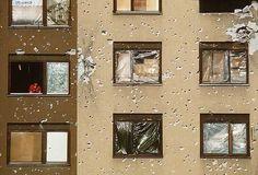 Sarajevo building in 1994. #War
