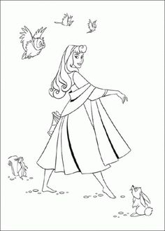 130 Best Sleeping Beauty coloring pages images | Sleeping beauty ...